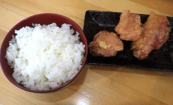 丸山製麺所 唐揚げセット