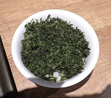 麺と心 7 焼きバラ海苔ご飯
