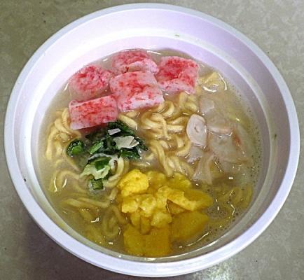 5/18発売 QTTA裏 シーフードクリーム味(できあがり)