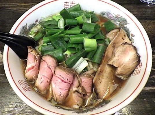 綿麺 引き算の中華そば