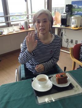 5月苑内喫茶②