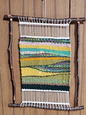 色糸織りー1