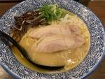 濃厚鶏白湯ラーメン塩@品川製麺所新宿2丁目店