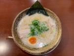 豚骨らーめん@越後秘蔵麺無尽蔵カリーノ江坂家