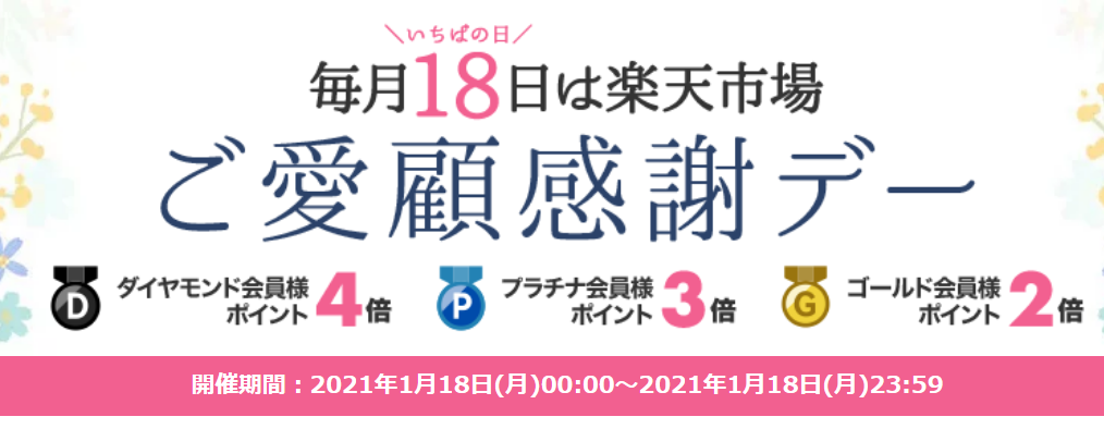Screenshot_2021-01-18 【楽天市場】ご愛顧感謝デー ポイント最大4倍