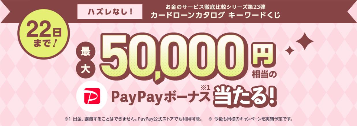 Screenshot_2021-04-17 ヤフーファイナンス カードローンカタログ キーワードくじ - Yahoo ズバトク