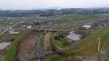 毛井地区河道掘削工事の完成報告です。