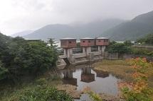 湖尻水門 黒岳