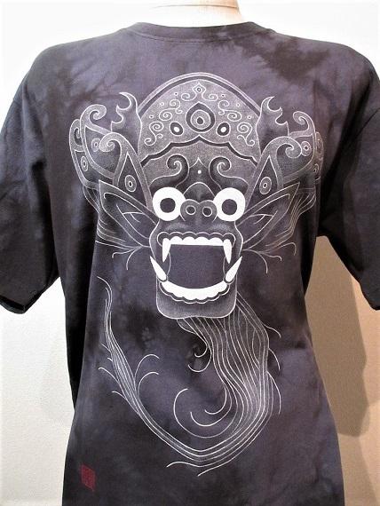花音 手描きTシャツ バロン