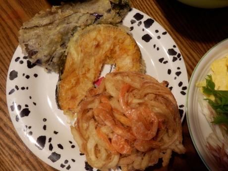 お家天ぷら蕎麦 (1)