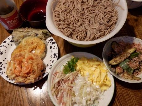 お家天ぷら蕎麦 (4)