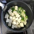 豆腐とネギ