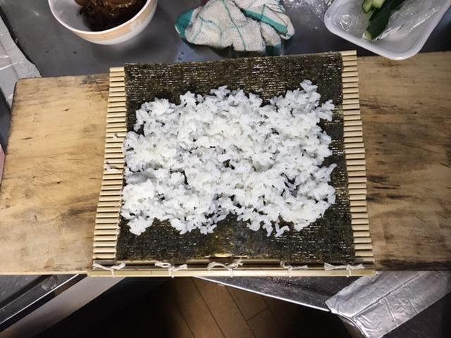 ご飯手巻き寿司