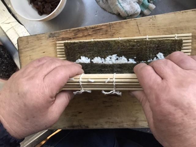 マク手巻き寿司
