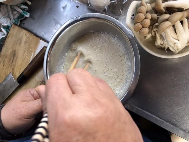 小麦粉天ぷら