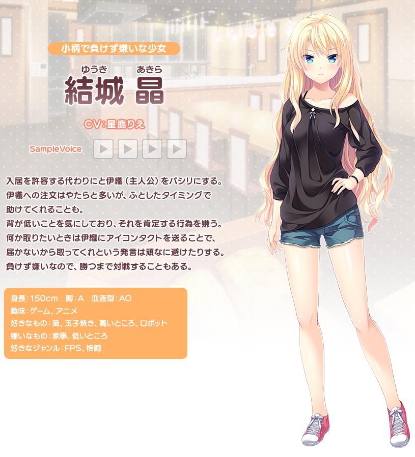 キャラクター3-「コイノハ-恋のシェアハウス-」