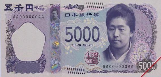 5000円 津田梅子