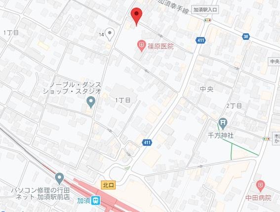 吉野家地図