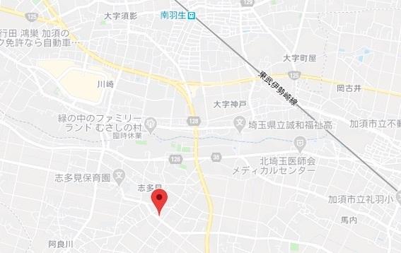 松の木地図