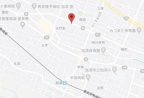 大島庵 地図