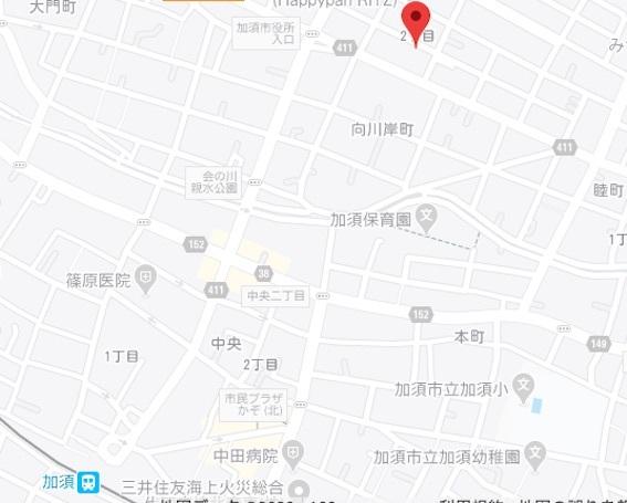 たぬき地図