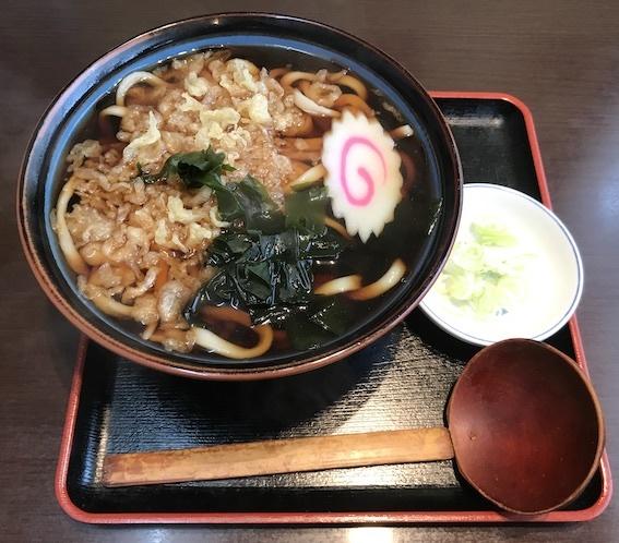 tたぬきうどん520円