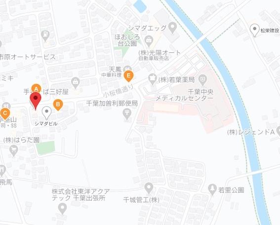 三好屋 地図