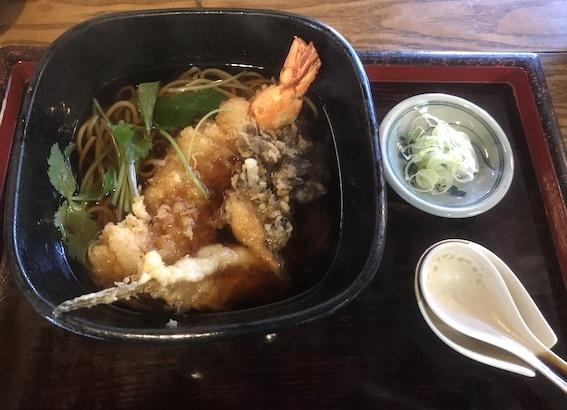 天ぷら蕎麦 1450円