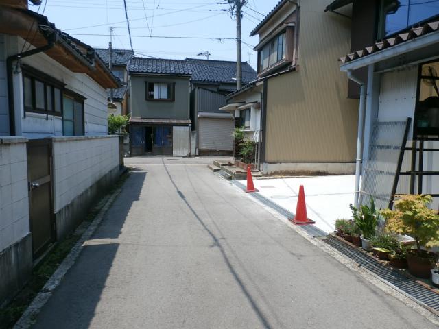 材木町前面道路①