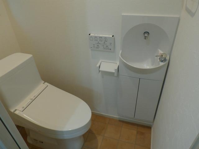材木町1階トイレ