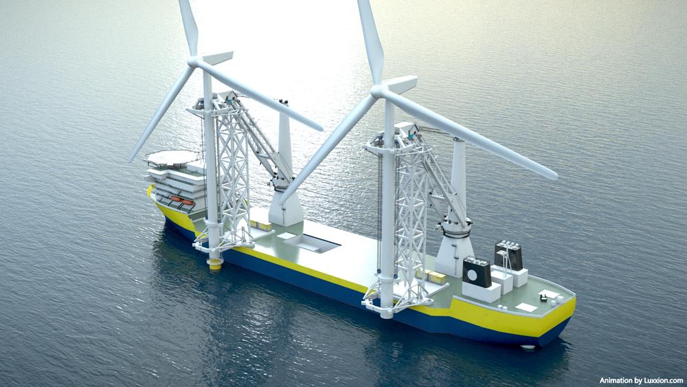 洋上風車設置船不足-11