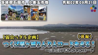 【弱虫ペダル企画】#霞ヶ浦りんりんロード にて訪問