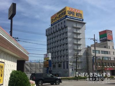 スーパーホテル高岡南 外観
