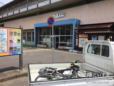 ぐるり茨城17は、潮来駅でDNF(Did Not Finish)。