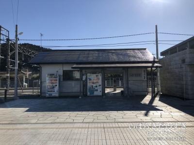 JR稲田駅 / 新駅舎 (2019年撮影)