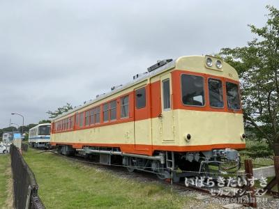鹿島鉄道鉾田線 車両 キハ601(静態保存)