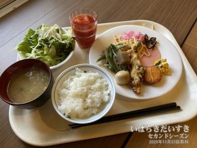 朝食:ホテルルートイン日立多賀