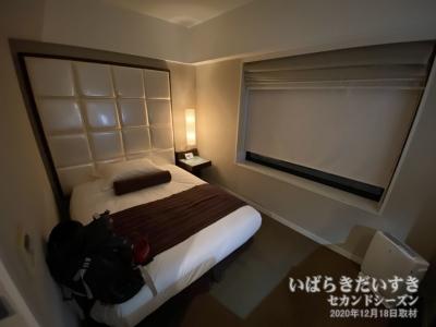シングルルーム:ホテルテラスザガーデン水戸