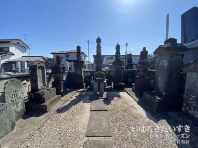 伊奈熊蔵忠勝の墓 (伊奈町指定史跡)