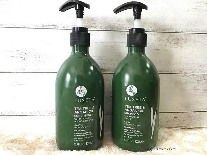 Luseta Beauty, Tea Tree & Argan Oil, Shampoo, 16.9 fl oz (500 ml)