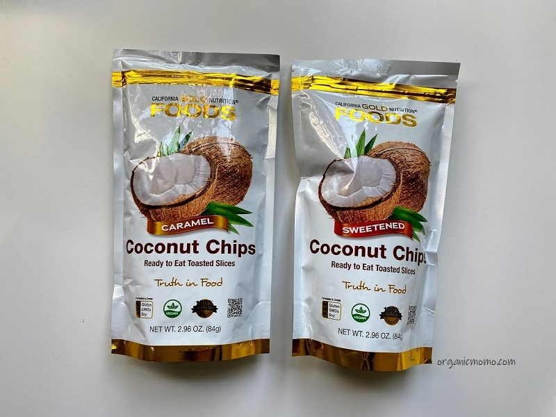 California Gold Nutrition Toasted Coconut Chipsの画像