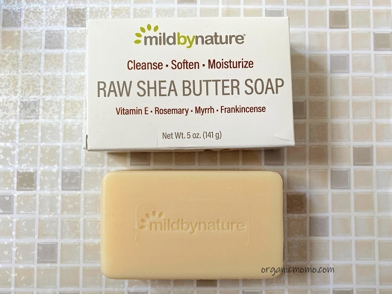 Mild By Nature, Raw Shea Butter, Bar Soapの画像