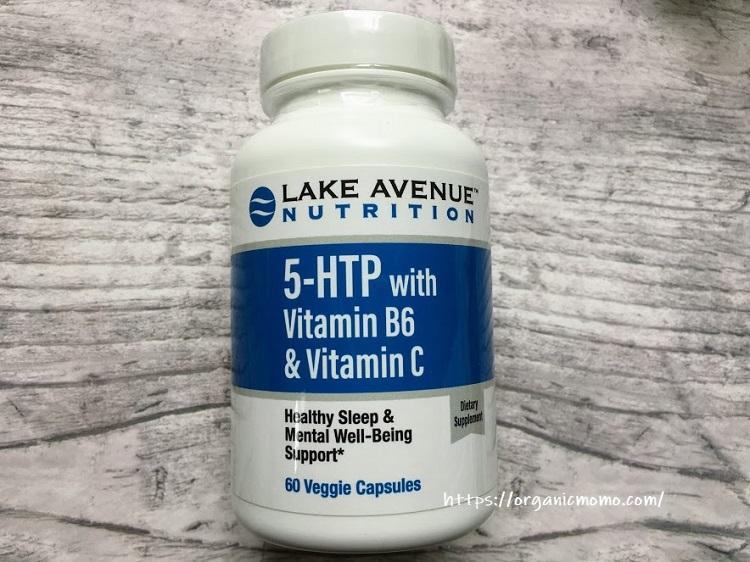Lake Avenue Nutrition, ビタミンB6&ビタミンC配合5-HTP