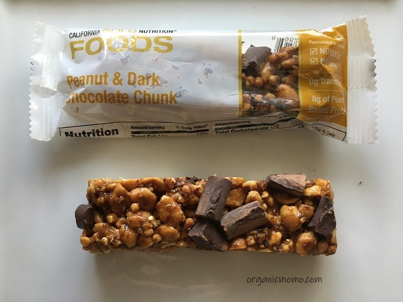 California Gold Nutrition Peanut & Dark Chocolate Chunk