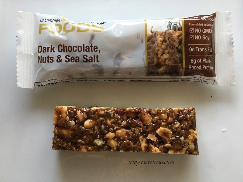 California Gold Nutrition Dark Chocolate, Nuts & Sea Saltの画像