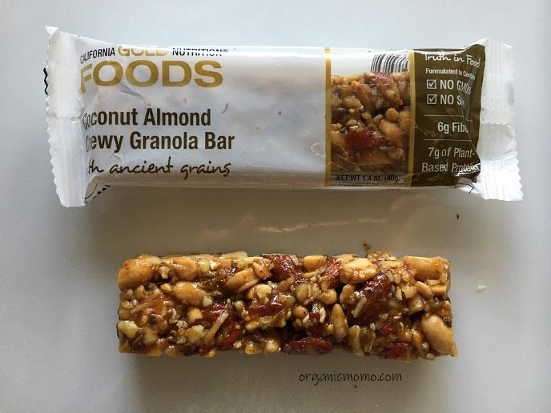 California Gold Nutrition Coconut Almond Chewy Granolaの画像