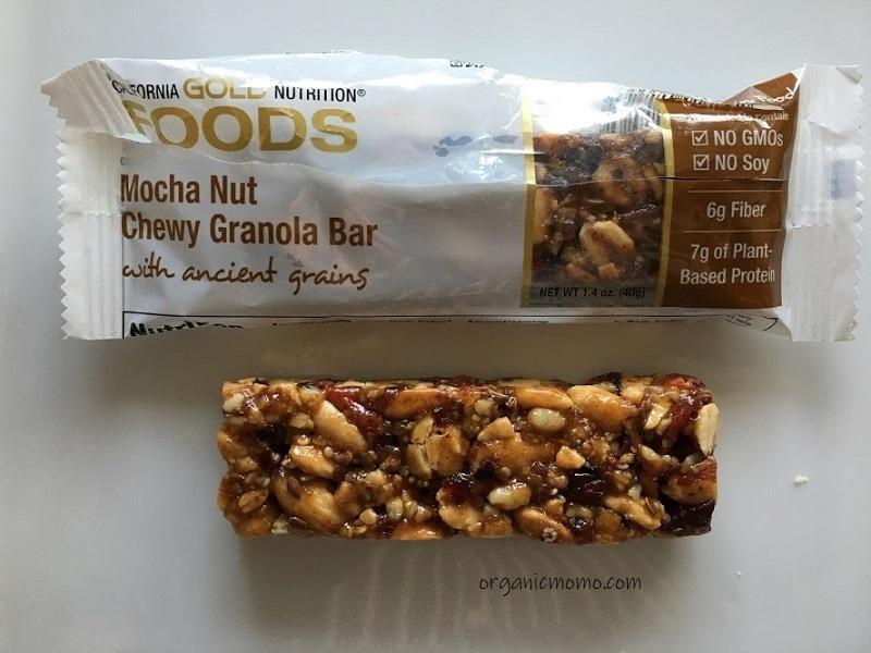 California Gold Nutrition Mocha Nut Chewy Granolaの画像