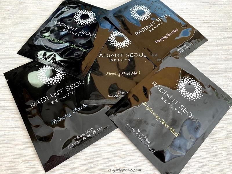 iherbラディアントソウルのフェイスパック5種類