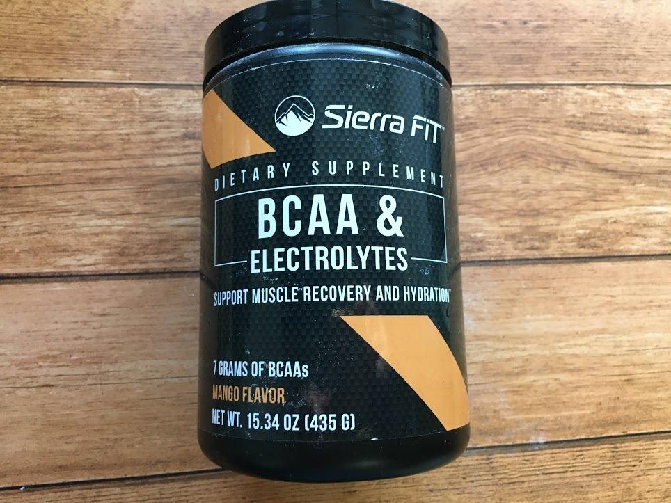 Sierra Fit, BCAA&電解質、7G BCAA、マンゴーの画像4