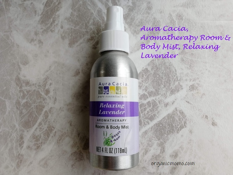 Aura Cacia, Aromatherapy Room & Body Mist, Relaxing Lavender